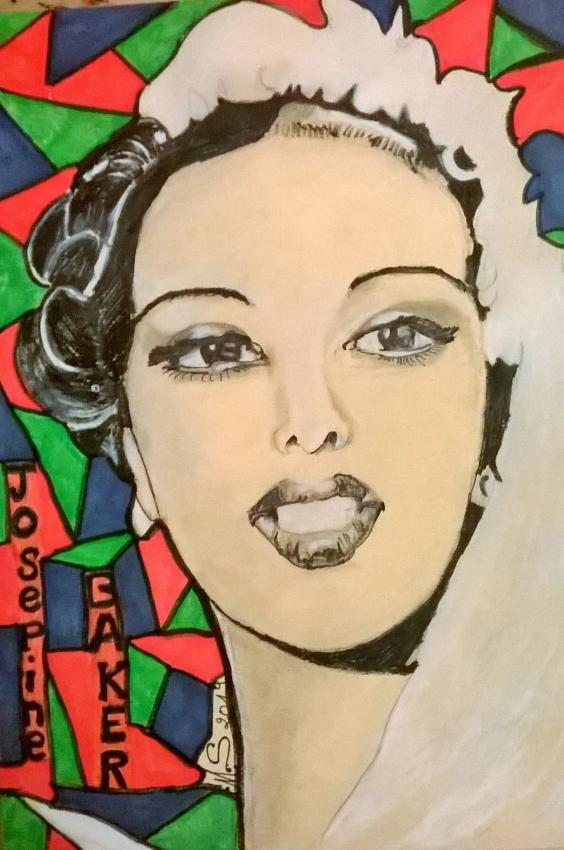 Josephine Baker par noisette